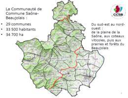 carte CCSb