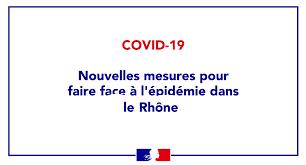 Informations sur les déplacements suite aux nouvelles mesures pour le Rhône